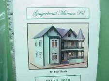 Dollhouse Miniature Gingerbread Mansion Kit Northeastern 1/144th Scale #DH13