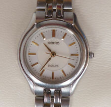Seiko Exceline Womans Watch,  Stainless Steel Band, New Battery, Water Resistant