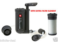 NEW Katadyn Hiker Pro Microfilter Backpack Water Filter Purifier w Extra Element