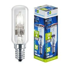 2 XENON 28W = 40W Energy Saving Halogen Cooker Hood bulbs SES E14 Small Screw