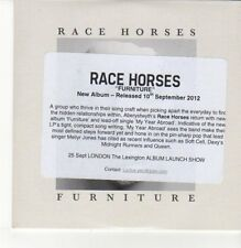 (DN373) Race Horses, Furniture - 2012 DJ CD