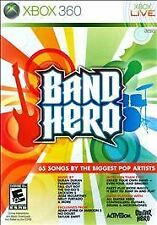 Band Hero  (Xbox 360, 2009) Video Game