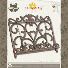 CLAYRE & EEF | 600048 | Leggio - Cook book Holder | Shabby chic