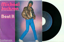 MICHAEL JACKSON 'Beat It / Get on the Floor' 1982 HOLLAND EPIC PS NMINT VINYL 7""