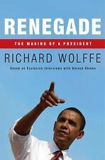 Renegade The Making of a President Wolffe Richard HARDCOVER Book Obama