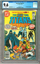 NEW TEEN TITANS 2 CGC 9.6 WP 1ST DEATHSTROKE JUSTICE LEAGUE BATMAN MOVIE HOT KEY