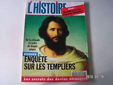 **a L'Histoire n°198 Enquête sur les templiers / Les chevaliers de Malte