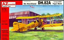 AZ Models 1/72 DE HAVILLAND DH.82A TIGER MOTH WITH LONG TAILFIN