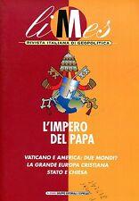 LIMES N. 1/2000  L'IMPERO DEL PAPA