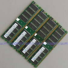 Samsung 4GB 4X1GB DDR400 PC3200 ram DIMM Desktop memory CL3.0 Low Density 400mhz