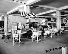 Photograph Vintage Maytag Store Washing Machines & Truck Washinton DC 1926 8x10