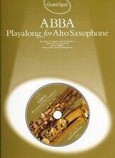 MUSIC SALES GUEST SPOT - ABBA + CD - SAXOPHONE ALTO Sheet music pop, rock, ... W