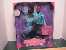Barbie Olympic USA Skater Barbie and Ken Set Go for the Gold Medal