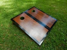 Regulation Black Border English Chestnut Cornhole Boards