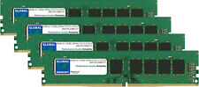 64GB 4x16GB DDR4 2133MHz PC4-17000 288-PIN ECC UDIMM SERVER/WORKSTATION RAM KIT