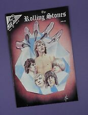 Rolling Stones Comic - 1990 - Signed by the Comic Creater - Unused Stock !