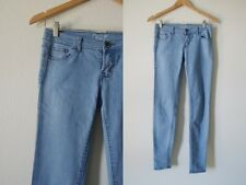 Chi Ole Denim Architect Sky Blue Skinny Denim Pants Jeans 0 25