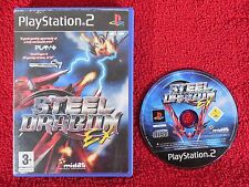 STEEL Dragon EX-PLAYSTATION 2 PAL ps2 ~ ~ 3+ ARCADE/sparatutto spaziale