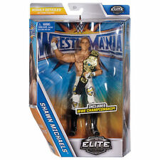 WWE ELITE SHAWN MICHAELS WRESTLEMANIA 33 SERIES WRESTLING MATTEL ACTION FIGURE