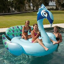 Giant Inflatable Peacock Pool Float Toy New