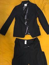 Women's black Armani Collezione jacket and pants suit - Size 10/IT 46