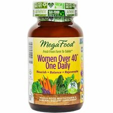 MEGA FOOD WOMEN OVER 40 0NE DAILY. FACTORY SEALED. EXPIRES JUNE 2019