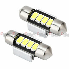 2X White Car Interior Festoon Dome Light Bulbs Lamp 31mm 4SMD 5630 5730 LED 12V
