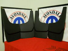 Dodge Ram Nitro Dakota Durango Flat splash guards mud flaps 4X4 front & rear