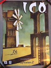 ULTRA RARE - ICO and SHADOW of the COLOSSUS - OFFICIAL GAME POSTER