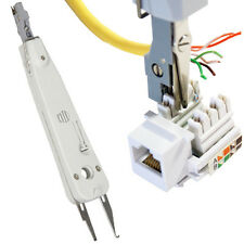 IDC Punch/Push Down Tool -CAT5e/CAT6 RJ11 Network- For Keystone Krone Wall Plate