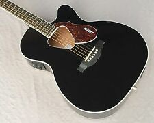 Gretsch G5013CE Rancher Jr Acoustic Electric Guitar In Black