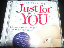 Friends Forever Just For You Various 2 CD Ft Westlife Britney Spears Wham Pink &