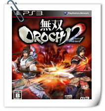 PS3 Musou 2 Warriors Orochi 3 SONY PlayStation Action Games Koei Tecmo