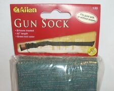 "Allen Knit Hunting Shooting Rifle Gun Cover Sock Green Camo Camouflage 52"" New"