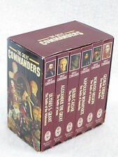 THE GREAT COMMANDERS 6-VHS TAPE SET Ambrose Video 1993