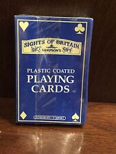 Vintage Sights Of Britain Chester Souvenir Playing Cards New Sealed