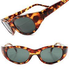 True Vintage Deadstock 80s Rockabilly Tortoise Womens Sexy Cat Eye Sunglasses