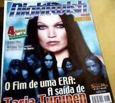 NIGHTWISH TARJA TURUNEN MAGAZINE POSTER BRAZIL #137 RARE PICTURES FEAT 4 LYRICS
