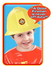 Fireman Sam Firefighters Helmet with Theme Tune & Character Phrases Sound - New