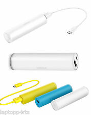100% Nokia DC-19 Universal Micro USB 3200mAh Portable Battery Power Bank White
