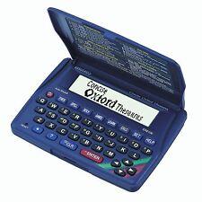 Seiko Electronic Oxford English Spell Checker Crossword Solver Calculator Games
