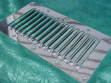 "STAINLESS STEEL BOAT VENT LOUVERED VENTILATOR VENT NEW  9"" X 5"" CABIN ENGINE ETC"