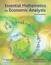 Essential Mathematics for Economic Analysis (2nd Edition)-ExLibrary