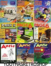 Mega Atari Magazine collection on 3 DVDs High quality PDFs Over 12GB of reading