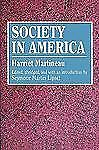Social Science Classics: Society in America by Harriet Martineau (1981,...