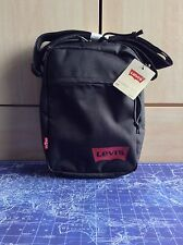 Levi Strauss Levis Small Bag Shoulder Messenger Mens Unisex BNWT RRP£28 Black