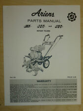 ARIENS JET SUPER JET DELUXE JET ROTARY TILLERS PARTS MANUAL PM 3