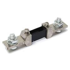 200A 75mV DC Analog Current Meter Divider Shunt Resistor For Amp Meter Ammeter