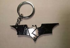 "Batman Dark Knight ""Batarang Shuriken"" Metal Keychain BLACK Color +Bat-ZWAAG!"