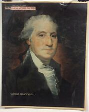 George Washington Insert Cover from New York's Picture Newspaper - Feb. 21, 1965
